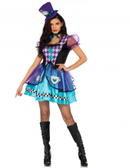 Costume da principessa folle viola donna