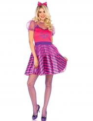 Costume da Miss Cheshire gatto donna