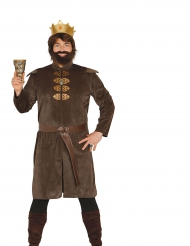 Costume da re medievale per uomo