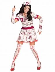 Costume da infermiera zombie per donna halloween