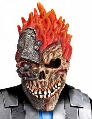 Maschera ciber teschio per halloween
