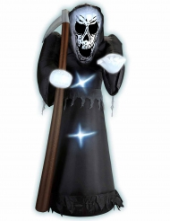 Morte gonfiabile e luminosa 122 cm Halloween