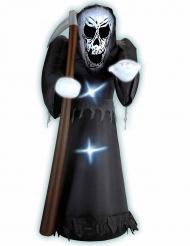 Morte gonfiabile e luminosa 122 cm Halloween