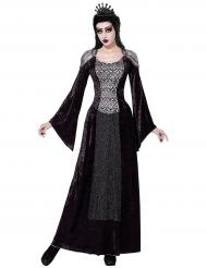 Costume regina dell'ombra per donna halloween