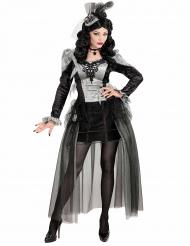 Costume da contessa delle ombre per adulto halloween b5b69d0e6fbf