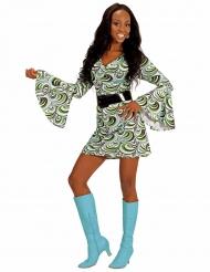 Costume anni 70 con onde per donna