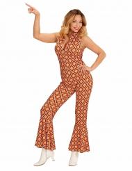 Costume tuta retro anni 70 per donna