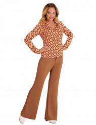 Camicia retro anni 70 per donna