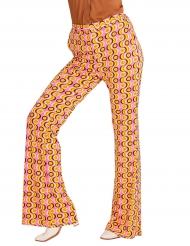 Pantalone anni 70 disco per donna