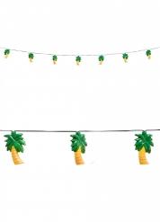 Ghirlanda luminosa con palme 250 cm