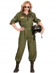 Costume da pilota di combattimento per donna