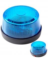 Sirena di soccorso blu con suono