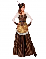 Costume nobile barocco per donna Steampunk