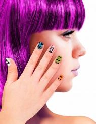 Finte unghie adesive per bambini mostriciattoli