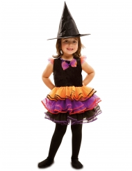Costume fantasia da strega per bambina halloween