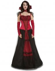 Costume da dama vampiro per donna halloween