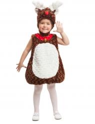 Costume da renna bambina