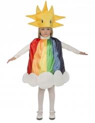 Costume da arcobaleno per bambino