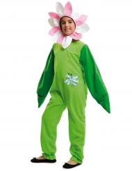Costume da fiore con libellula per bambina
