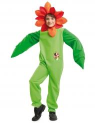 Costume da fiore con coccinella per bambino