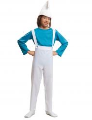 Costume da gnomo azzurro per bambino