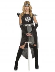 Costume neroda guerriera di draghi da donna