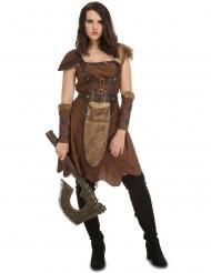 Costume da donna guardiana del nord