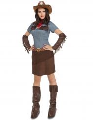 Costume da cowgirl per donna