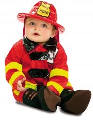 Costume da vigile del fuoco per bebè