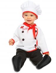 Costume da piccolo cuoco per neonato