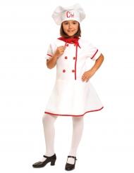 Costume cuoca bambina
