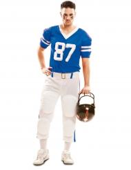 Costume da giocatore di football americano n. 87per uomo