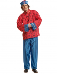 Costume rossoda cinese per uomo