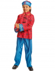 Costume cinese rosso bambino