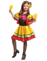 Costume da danzatrice di rumba bambina