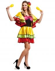 Costume da ballerina di Rumba per donna