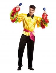 Costume da ballerino di rumba per uomo