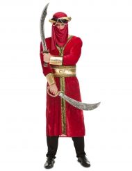 Costume da guerriero arabo per uomo