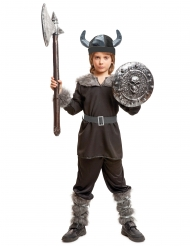 Costume da Vichingo nero per bambino