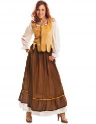 Costume da taverniera medievale per donna