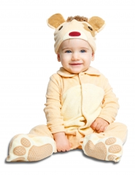 Costume orsacchiotto lusso per bébé