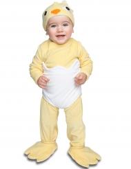 Costume da pulcino lusso per bébé