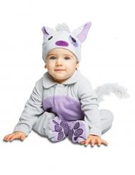 Costume da Gattino con ciuccio deluxe per bebe