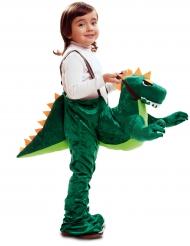 Costume Carry Me dinosauro verde per bambino
