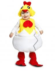 Costume da Pulcino nel guscio per bebe