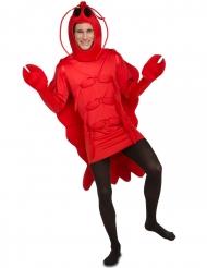 Costume da aragosta per adulto