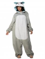 Costume da topo grigio per adulto