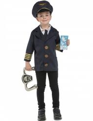 Costume da pilota con accessori per bambino