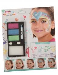 Palette trucco principessa arcobaleno bambina