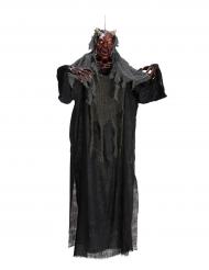 Decorazione da appendere diavolo luminoso 170 cm Halloween